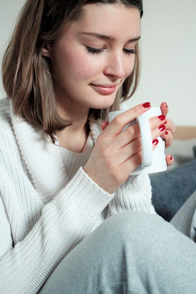 Gerade der Januar ist einer der schlimmsten Wintermonate. Nach den Feiertagen zieht der Alltag wieder ein, es ist kalt und ungemütlich. Deshalb zeigt Bloggerin Katharina heute 5 Dinge für kalte Wintertage, die eure Laune sicher steigern werden.
