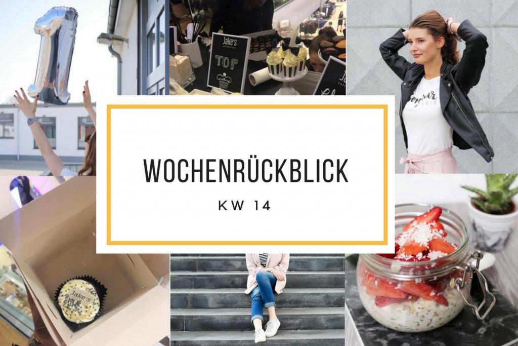 Im Wochenrückblick berichtet Bloggerin Katharina über die Aufs und Abs der letzten Tage. Highlight war sicherlich der erste Bloggeburtstag.