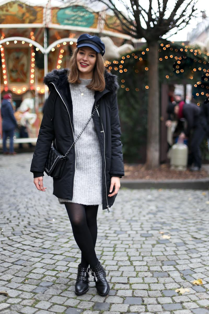Die Winterzeit ist die richtige Zeit für dicken und warmen Strick. Ein Strickkleid begeistert mich momentan besonders, es lässt sich einfach mit Strumpfhosen kombinieren und sieht doch immer gut aus und hält warm.